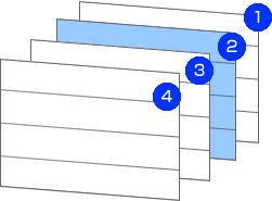 立体4層構造